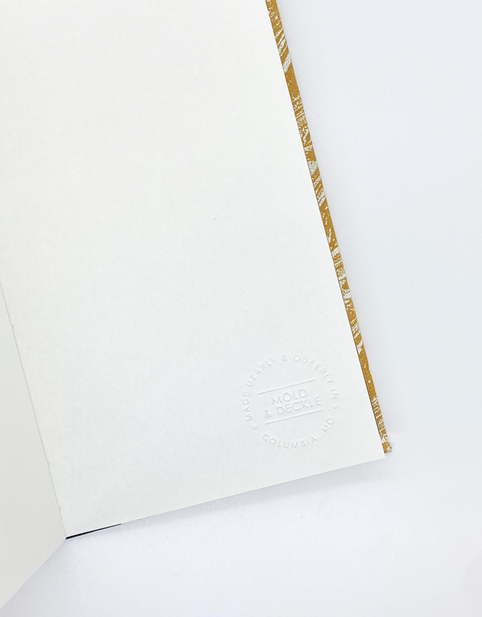 Mold & Deckle Green + Gold Flora // Sketch