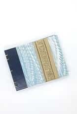 Mold & Deckle Blue Feather // Pocket Sketch