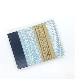 Mold & Deckle Blue Feather // Pocket Sketch