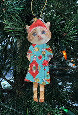 Another Girl Cat Holiday Ornaments