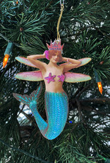 Another Girl Mermaid + Fairy Holiday Ornaments