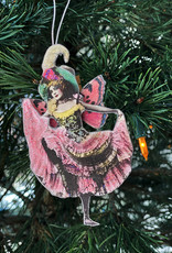 Another Girl Can-Can and Flapper Holiday Ornaments
