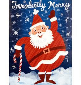 Matthew Hawkins Immodestly Merry Print