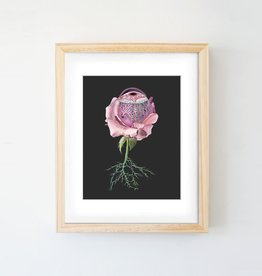Trisha Thompson Adams Floral Eye Print // Black