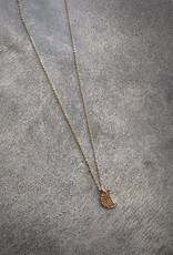 sara forrest design Moon Charm Necklace