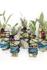 GLO.BOWL Sage + Herb // Palo Santo // Stone Bundles