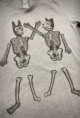 Yonder Studios Skeleton Animals Tee by Yonder Studios