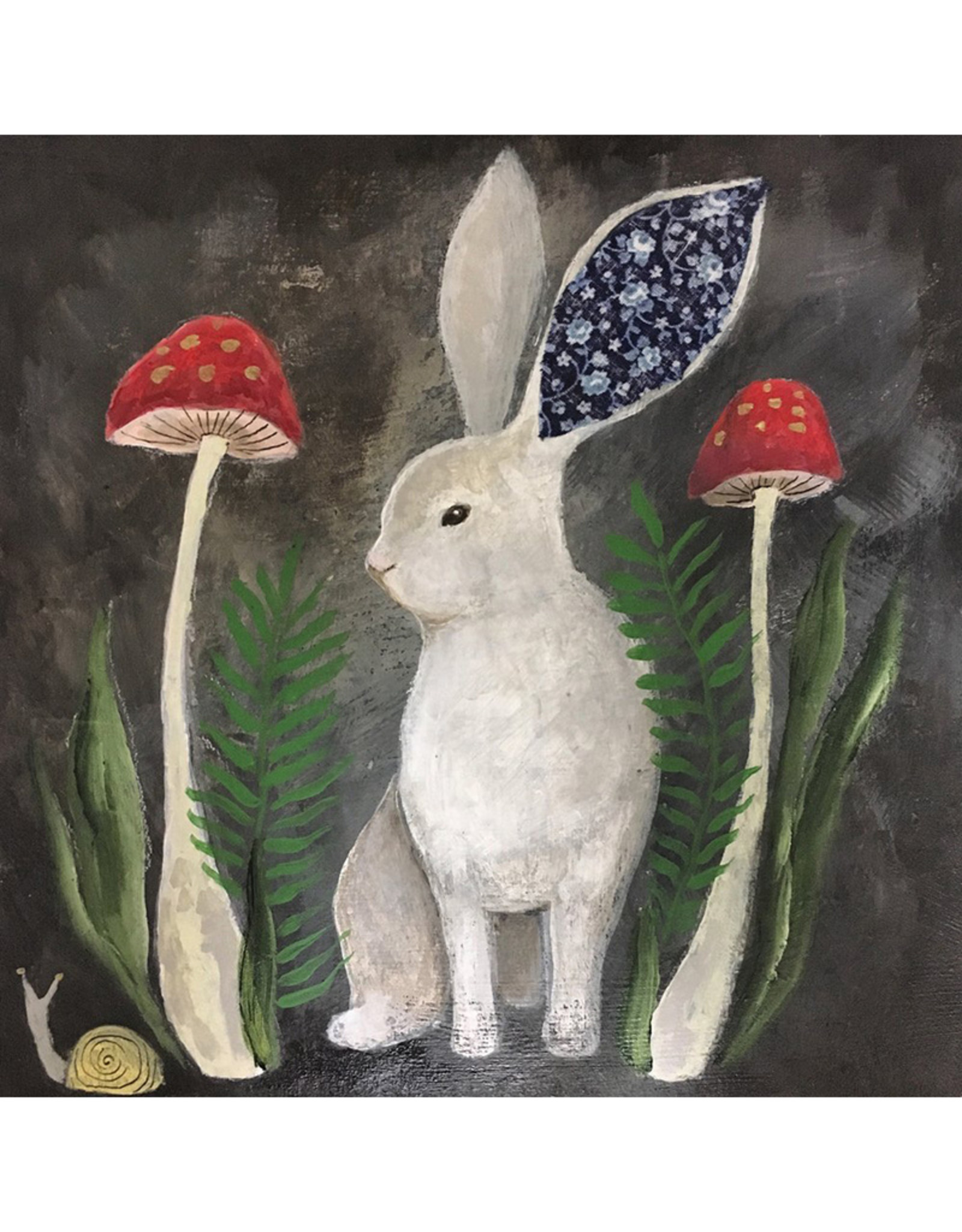 Erin Weiss Le Lapin 8x8 Gallery Print