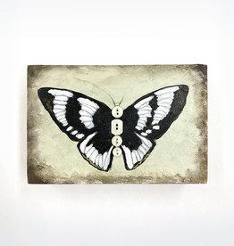 Erin Weiss Black & White Butterfly // Original Work