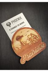 Phoenix Woodworking Cedar Magnets by Phoenix Woodworking