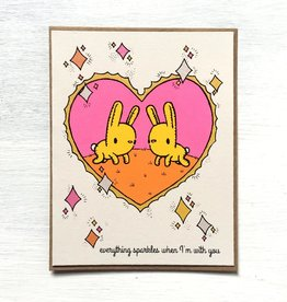 Everyday Balloons Everything Sparkles Card