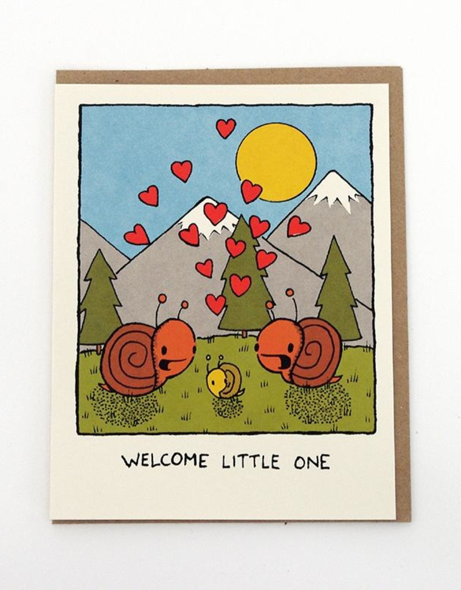 Everyday Balloons Welcome Little One Card