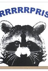 Guttersnipe Press Surprise Raccoon Card