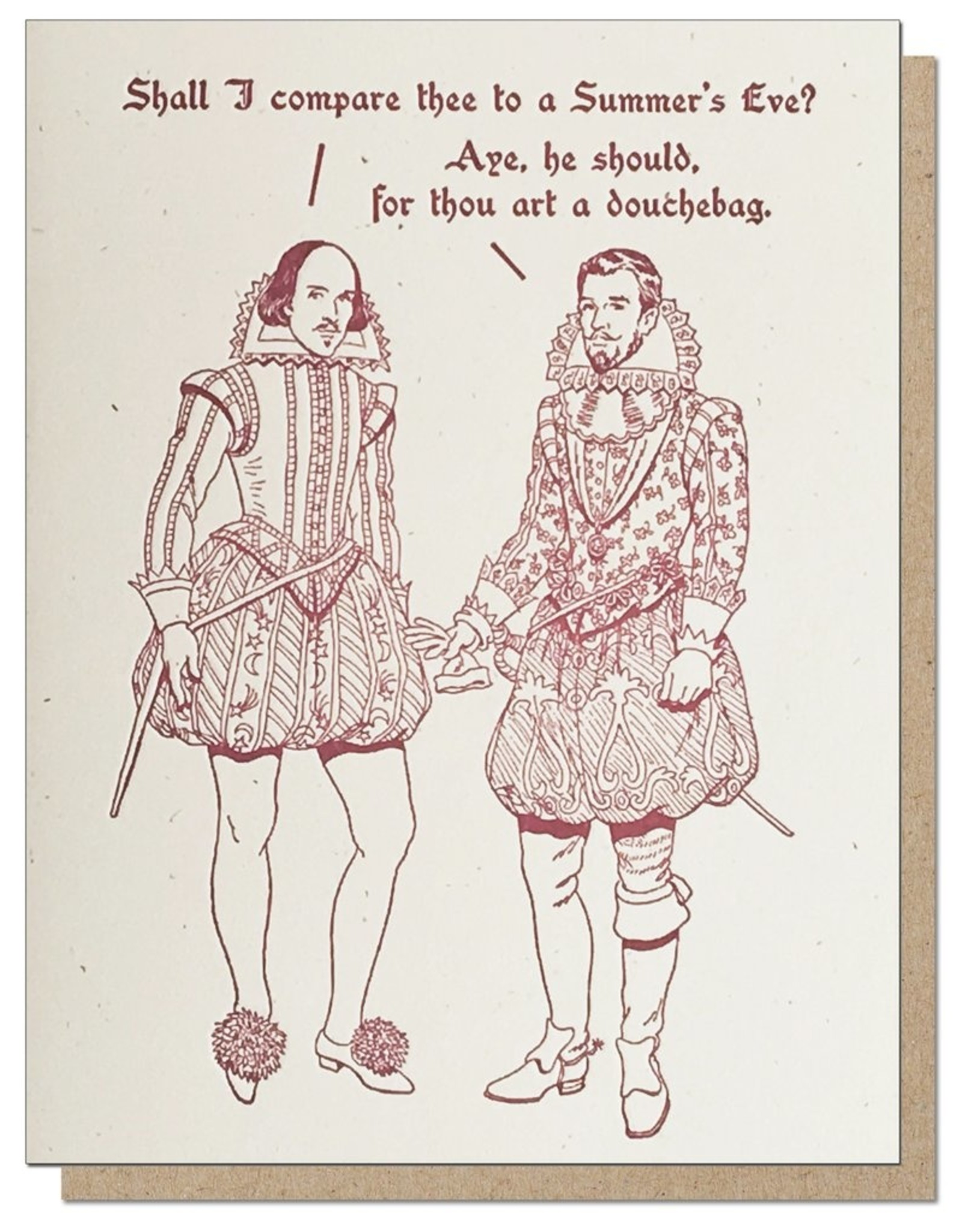 Guttersnipe Press Summer's Eve Card