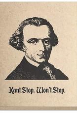 Guttersnipe Press Kant Stop Won't Stop Card