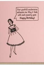 Guttersnipe Press Assorted Birthday Cards by Guttersnipe Press