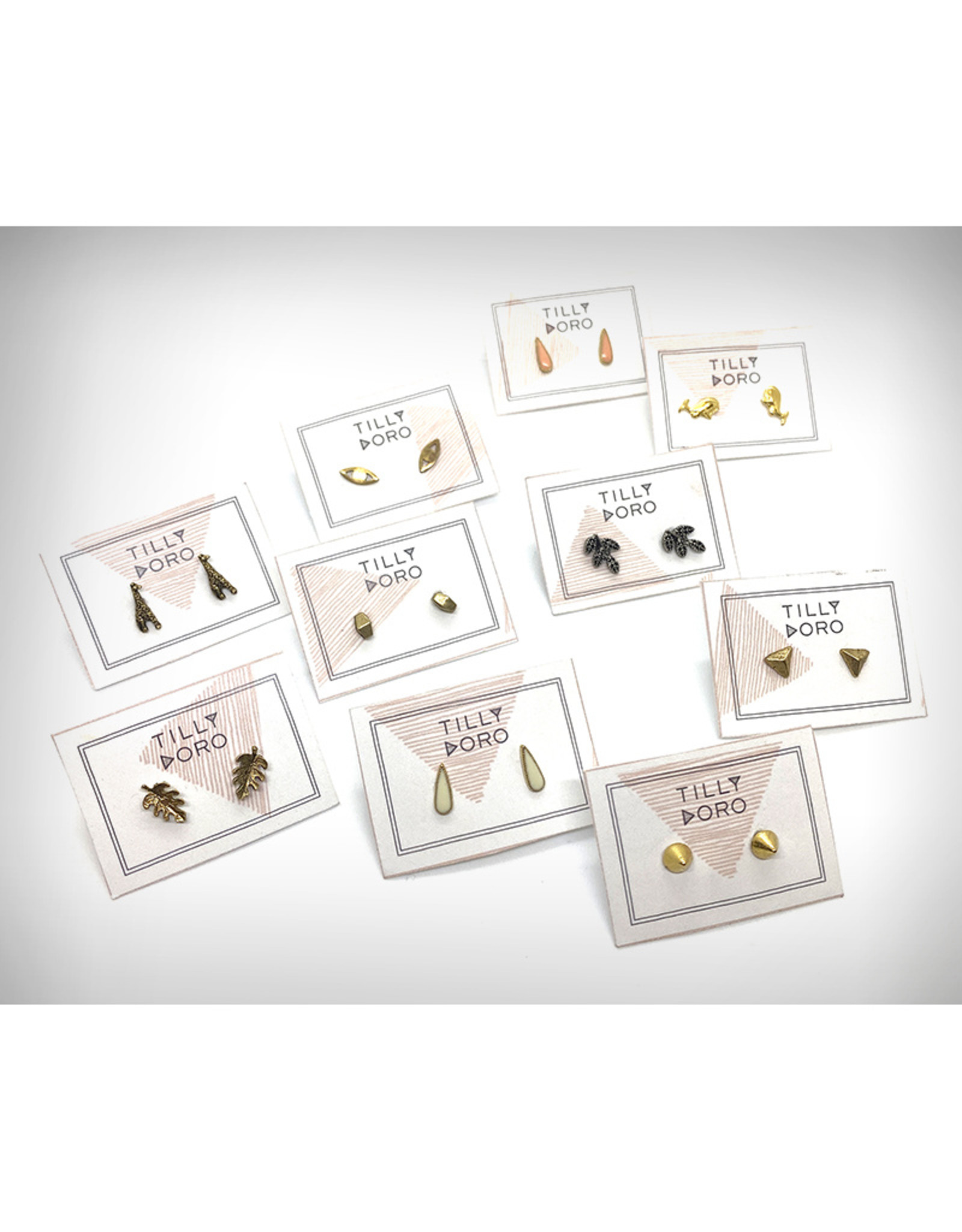 Tilly Doro Stud Earrings by Tillydoro