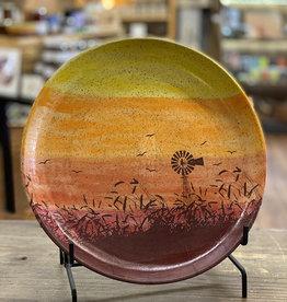 Melanie Harvey Pottery Prairidise Platter by Melanie Harvey Pottery