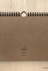 Inkello Draw-Your-Own Monthly Hanging Calendar