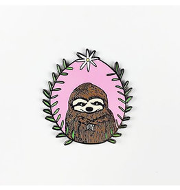 Culture Flock Sloth Pin by Culture Flock