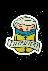 Culture Flock Introvert Sticker