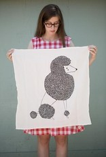 Poodle Tea Towel