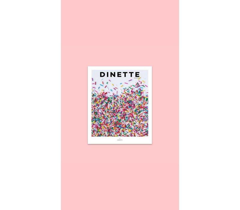 """Dinette Magazine  011 """"CONFETTI"""""""