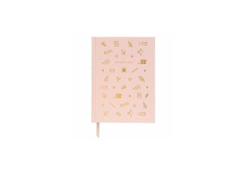 Rifle Paper Co. Blush Address Book by Rifle Paper Co.