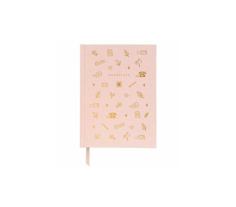 Blush Address Book by Rifle Paper Co.