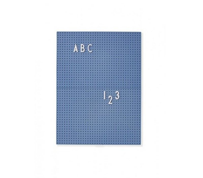 Message Board A4 Blue par Design Lettres