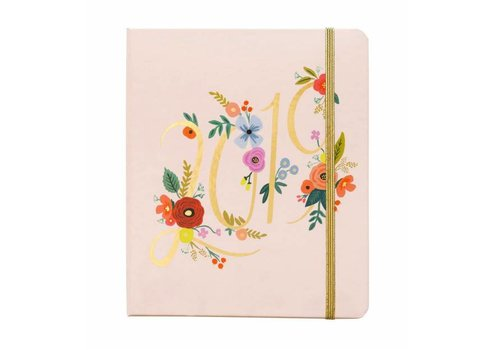 Rifle Paper Co. 2019 Covered Spiral Bouquet Planner by Rifle Paper Co