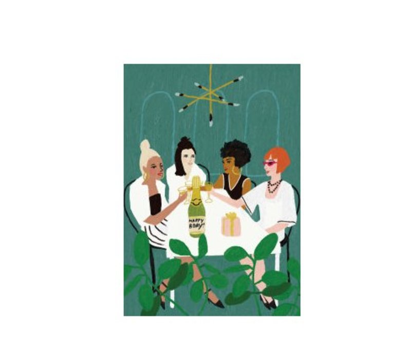 Girls Night Out Card by Roger la Borde