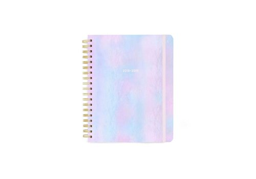"2018-2019 ""Pearlescent"" Large Planner by Ban.do"