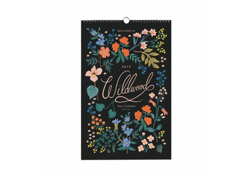 Rifle Paper Co. 2019 Wildwood wall Calendar by Rifle Paper Co.