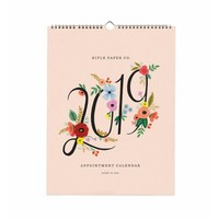 2019 Bouquet Appointment Calendar by Rifle Paper Co.