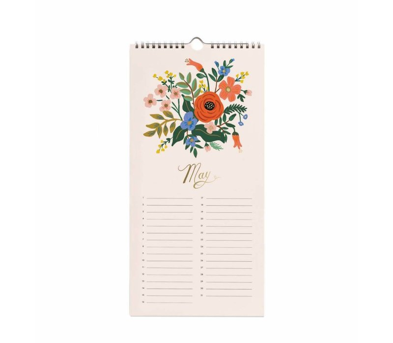 2019 Celebration Calendar by Rifle Paper Co.