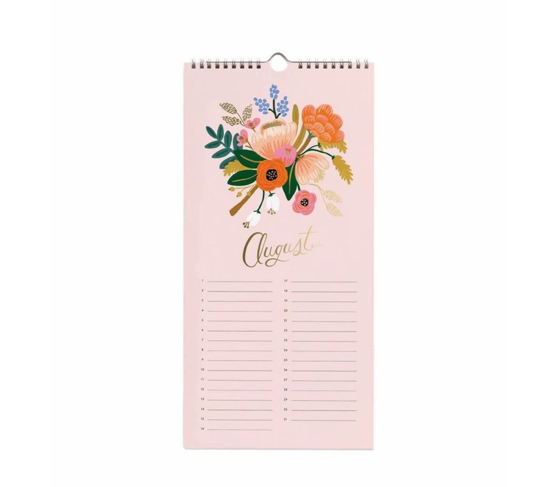 "Calendrier 2019 ""Celebration"" par Rifle Paper Co."