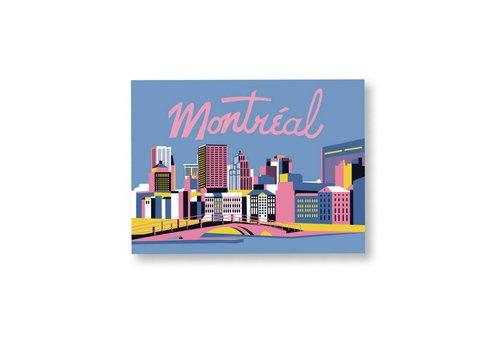 Affiche Montréal 8x10 par Bien à vous