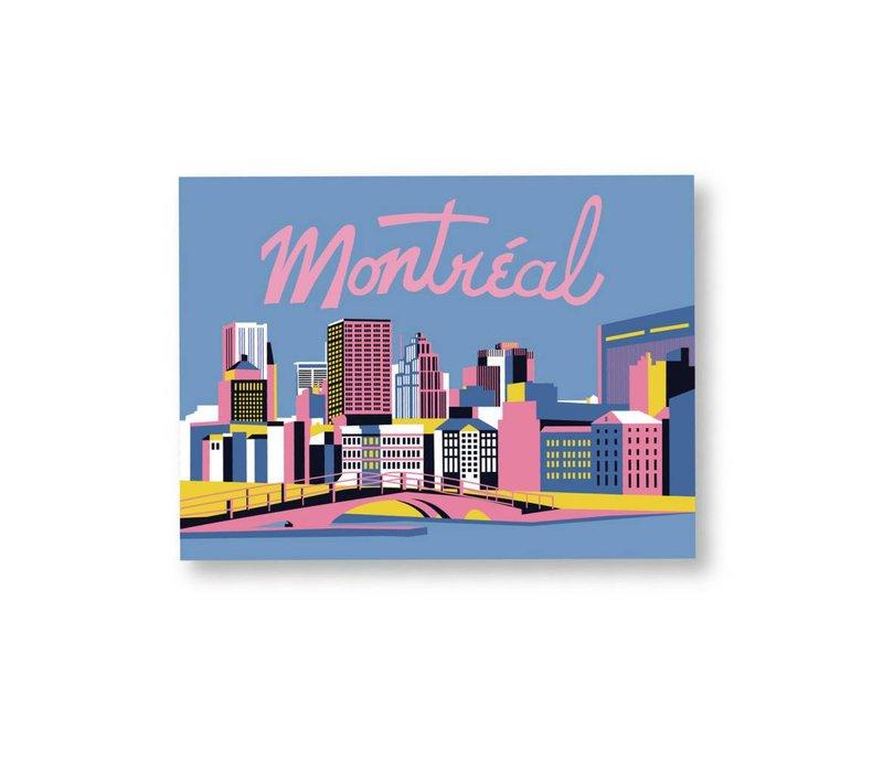 24x36x Montreal Print by Bien à vous