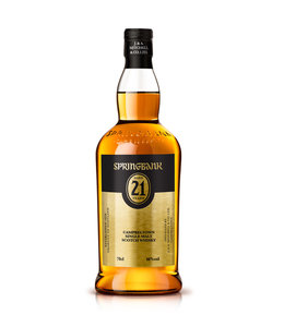 Springbank 21 Year Old 750ml 2018 Release