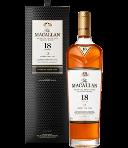 Macallan Sherry Oak 18 Year old  Scotch 750ml