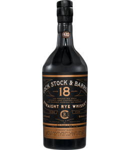 Lock Stock & Barrel 18YO Rye 750ml