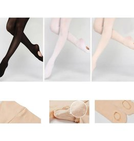 Sansha Convertible tights Pink& Black