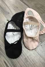 Sansha Slippers (Soft ballet) Pink & Black