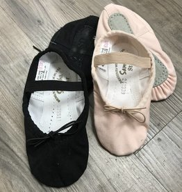 Sansha Slippers (Soft ballet) Pink & Black