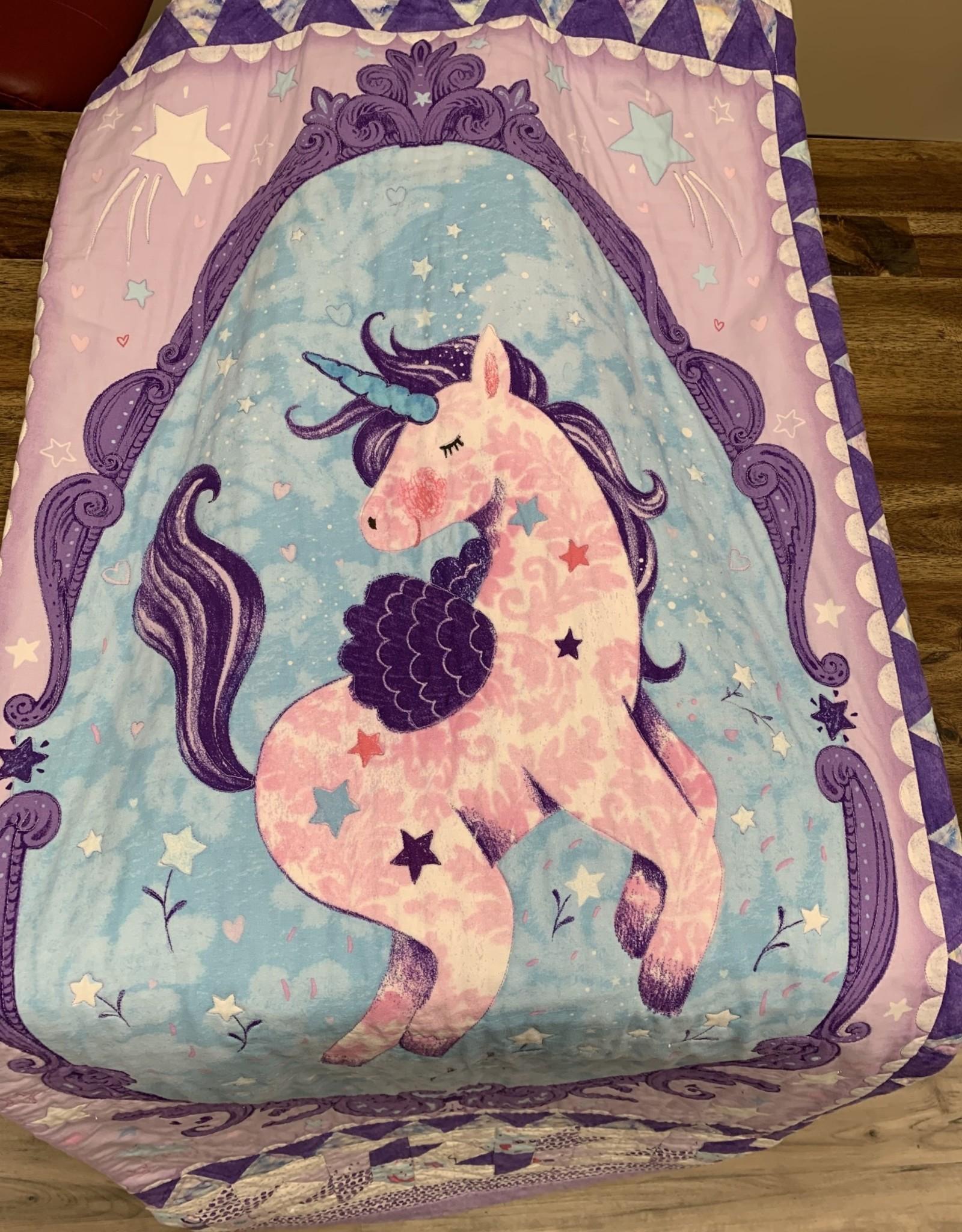 Quilt - Twin -Unicorn