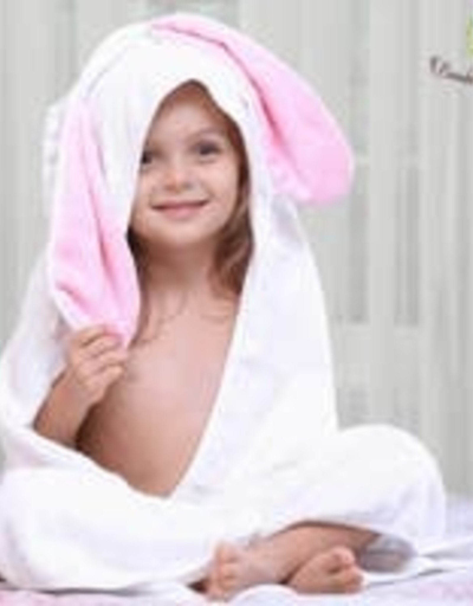 Bambi Bamboo Hooded Towel + wash cloths