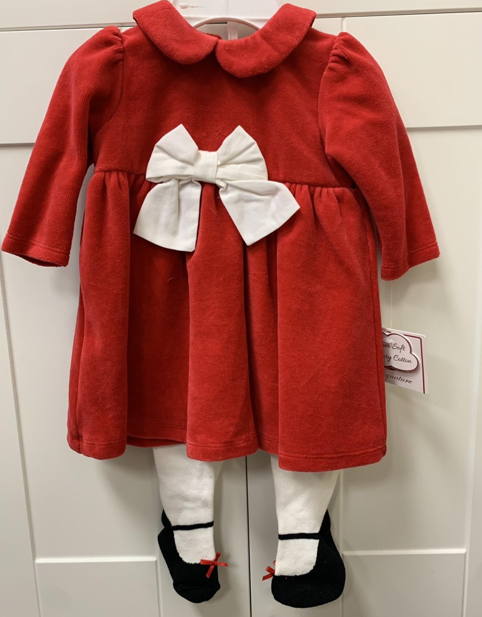 Little Me Holiday dress set
