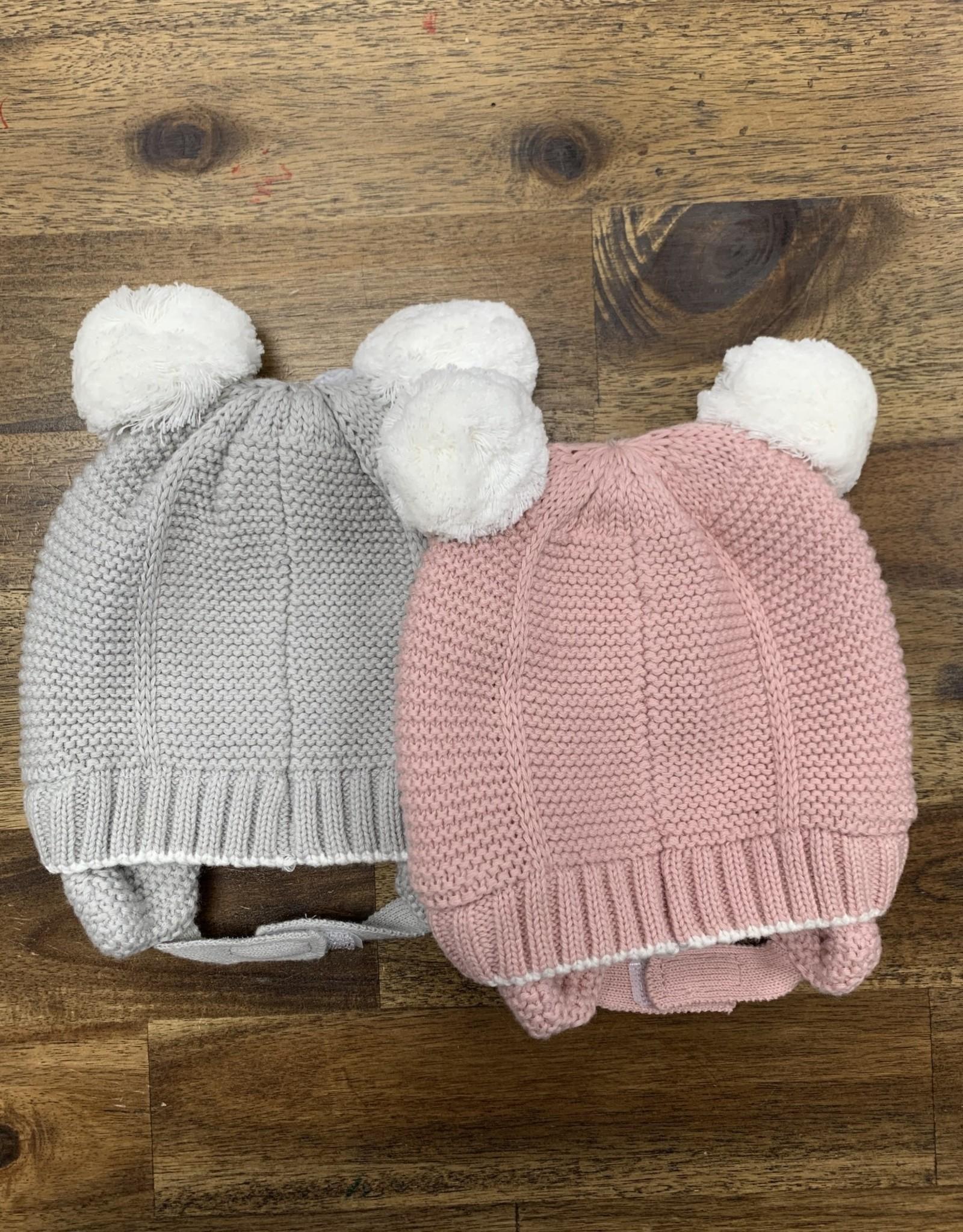cali kids Knit hat pom