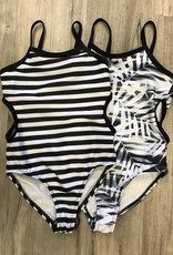 Off Set ONE PIECE SWIM SUITS